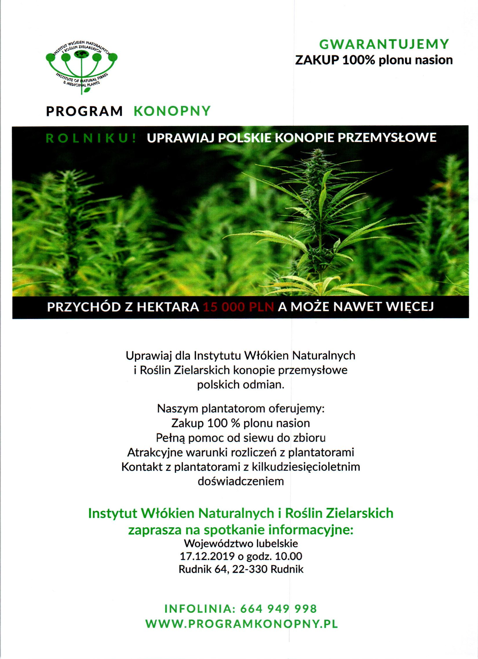PROGRAM KONOPNY